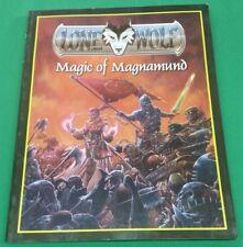 Lone Wolf RPG Magic of Magnamund (2004) #1122 Gamebook Guide Sourcebook TPB