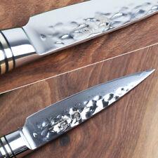 "8"" Sashimi Knife 73 Layers VG10 Core Damascus Steel Wood Handle Sushi Fish Chef"
