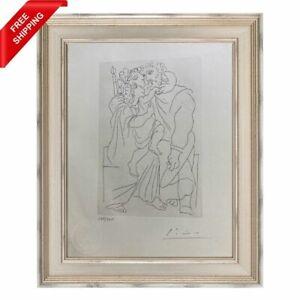 Pablo Picasso, Lysistrata 1934, Original Hand Signed Print with COA