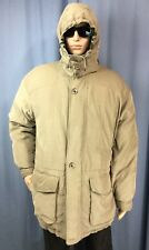 rare MEMBERS ONLY Goose Down Puffer hooded winter coat/jacket men's L