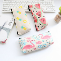 Girl Cute Lightweight Stylish Pencil Case Makeup Pouch Coin Purse Storage Bag
