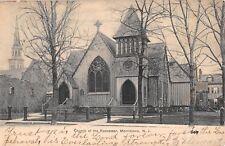 c.1907 Church of the Redeemer Morristown NJ post card