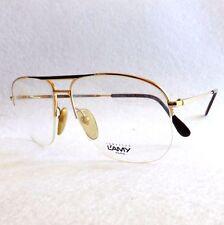 Vintage L'AMY PATRICK eyeglasses frames gold metal made in France