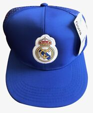 Real Madrid Flat Hat Soccer Team