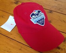 Nike Vancouver Red Hat 2010 Olympics NWT New Free Shipping Adjustable