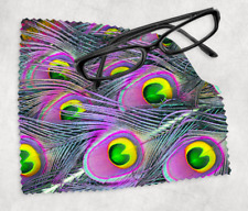 PEACOCK FEATHERS Sunglasses Reading Lens Mobile Phone Microfiber Cleaning Cloth