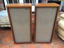 Rare TANNOY dual concentric Super Tweeter Gold CHATSWORTH ported speakers