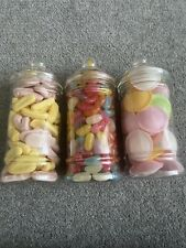 The Retro Sweet Jar Selection - Jelly Beans, Flying Saucers, Bananas & Shrimps
