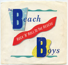 Beach Boys Rock 'N' Roll To The Rescue 1986 Capitol 5595 Picture Sleeve Only