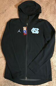North Carolina Jordan Therma Flex Showtime hoodie jacket, sz Small NWT! nike