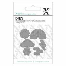 Xcut (Docrafts) Mini Paper Card Craft Metal Die (6 Pieces) - Weather Icons