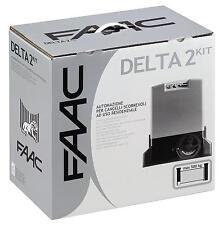 FAAC 1056303445- DELTA 2 KIT 230V AUTOMAZ. PER CANCELLI SCORREVOLI safe zone