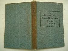 THE SAMOA (N.Z.) EXPEDITIONARY FORCE 1914-1915 SCARCE 1924 HB STEPHEN JOHN SMITH