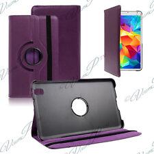 Cover Case Rotary Rotation 360° PURPLE Samsung Galaxy Tab 4 8.0 SM-T335 4G LTE
