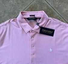 Polo Golf Ralph Lauren Golf Shirt Mens XXL Pink w/White Pony Stretch Lisle NWT