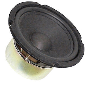 """8"""" Subwoofer Woofer Heavy Duty Shielded Magnet Rubber Surround 4Ohm free air OK"""