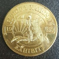 Token. USA. World's Fair. Florida National Exhibits. 1939.