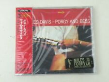 MILES DAVIS - PORGY AND BESS - CD JAPAN 1991 SONY RECORDS SRSC W/OBI NEW! NUOVO!