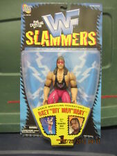 "WWF ""SLAMMERS series 1  ""Bret 'Hit Man' Hart""  w/doomsday drop action"