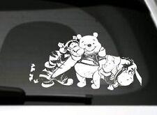Winnie The Pooh,Ferkel,Tigger,Eeyore Gruppe auto fenster/stoßfänger/