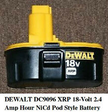 NEW !!! DEWALT DC9096 96 18 Volt XRP Battery Pack