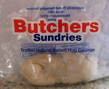 3 x Butchers Grade Sausage Casings / Skins - Natural Hog - 3 Bags = 15 meters!