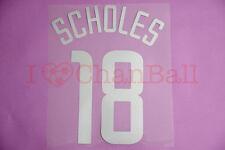Scholes #18 2002-2003 Manchester United CL 3rd Awaykit Nameset Printing