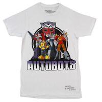 Transformers Optimus Prime Autobots Lineup Licensed Adult T-Shirt
