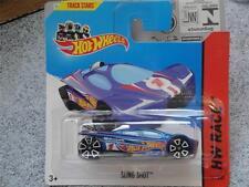 Hot Wheels 2014 #141/250 FRONDE TIR bleu HW COURSE