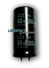 NEW 8200uF by 63V ELECTROLYTIC CAPACITOR 50x30mm