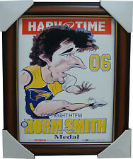 Andrew Embley West Coast Eagles 2006 Norm Smith Medallist Harv Time L/E Frame