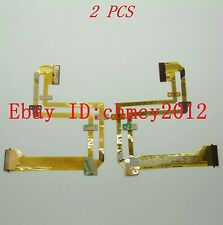 2pcs LCD Flex Cable For SONY DCR-SX20E DCR-SX21E Video Camera Repair Part