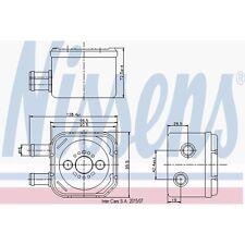 Ölkühler, Motoröl NISSENS 90652
