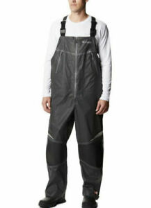 NEW Men's Columbia PFG Force XII OutDry EXTREME Waterproof-Breathable Bib Sz-XL