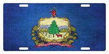 VERMONT STATE Flag Custom License Plate AMERICAN Emblem METAL Version