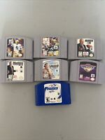 Lot of 7 Madden NFL Games: 64, 98, 99, 2000 2001 (Nintendo N64) Game Blitz