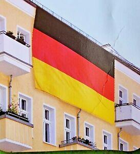 Deutschland Fahne 300 x 500 cm Extra Verstärkt Befestigungsösen Flagge WM EM