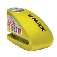 Xena XX6Y Motorbike Motorcycle High Performance Disc Lock Alarm Yellow 6mm Pin