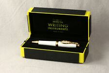 INVICTA BOLT TWIST ACTION BALLPOINT PEN WHITE / GOLD TRIM NEW IN BOX