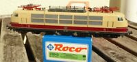 Roco 43849 E-Lok BR 103 TEE der DB Epoche 4,3-Leiter AC DIGITAL neuwertig in OVP