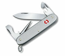 VICTORINOX Pioneer Alox Silber NEU/OVP Schweizer Taschenmesser +Etui Alu Design