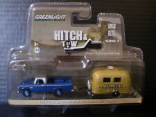 Greenlight 1966 Dodge Truck & Airstream Bambi Camper 1/64 Die Cast