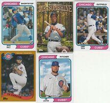 New listing 2020 Topps Archives Javier Baez Ernie Banks Sammy Sosa Jon Lester Chicago Cubs
