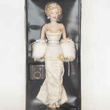 The Franklin Mint Marilyn Monroe Portrait Collectable Doll Hand Crafted