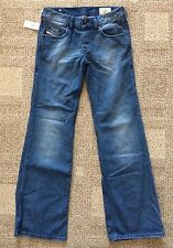 Womens Size 26 x 32 Diesel VIXY Button Fly Distressed Flare Button Fly Jeans