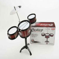 Desktop Drum Kit Novelty Executive Office Desk Toy Christmas Secret Santa Gift