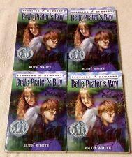 Lot 4 BELLE PRATER'S BOY Chapter Books RUTH WHITE Guided Reading Teacher NEWBERY