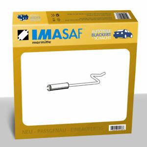 IMASAF Auspuff Mitteltopf für Citroen/Peugeot 208+2008+C3 1.1/1.2/1.5 2009-2019