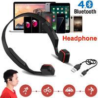 Portable Wireless Bluetooth4.0 Headphone HIFI Music Mic Headset USB For Phone PC