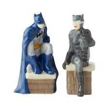 DC Comics Batman and Catwoman Salt and Pepper Shakers 6003735